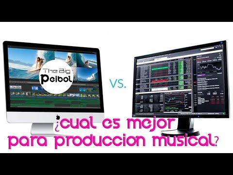 MAC vs PC para Producción Musical