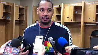 Thunder - Carmelo Anthony returns to play OKC
