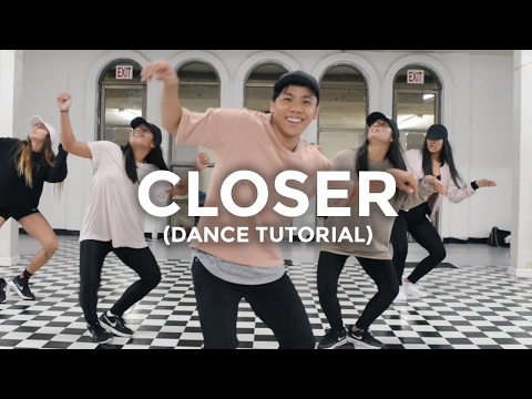 Closer (DANCE TUTORIAL) - The Chainsmokers Feat. Halsey | @besperon Choreography #CloserChallenge