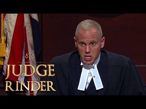 Judge Rinder Gives a Suspicious Defendant a Serious Warning  Judge Rinder