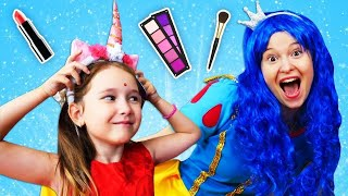 Мультики про принцесс Вредная принцесса стала красивой Видео для девочек Две принцессы