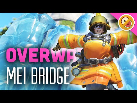 MEI ICE BRIDGE STRATS! - Overwatch Gameplay (Funny Moments)