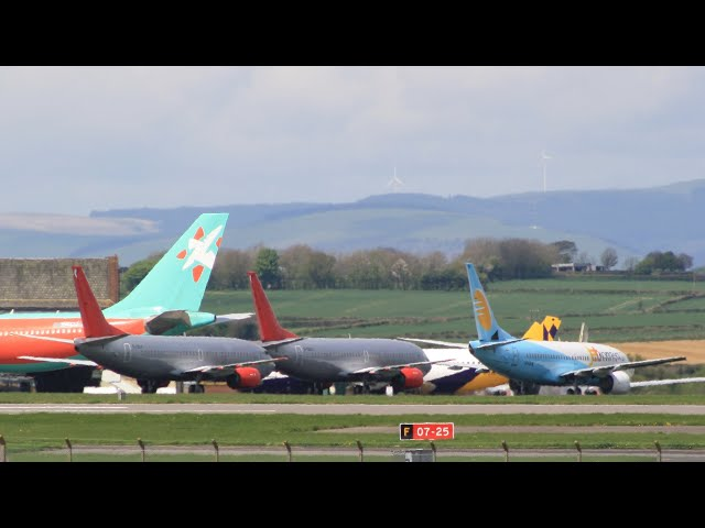 SCRAPPED Jet2 Boeing 737-300s