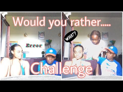 Would you rather challenge ft. 2 mystery guests | *must watch hilarious * | Robyn Ling |