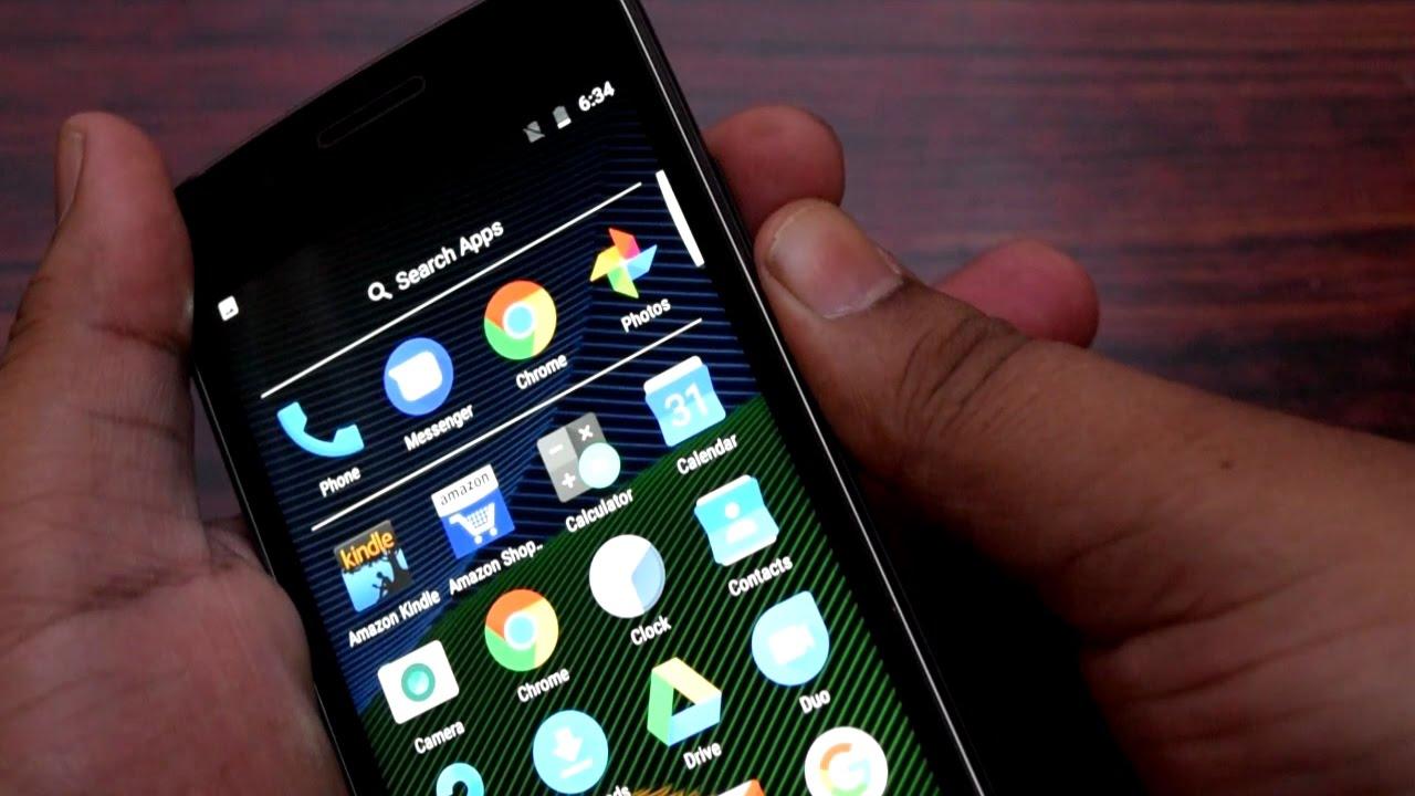 How To Take Screenshot In Moto G5