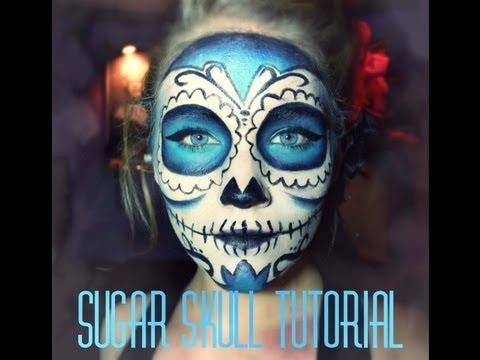 ✿ ☠ Sugar Skull | Makeup Tutorial ☠ ✿