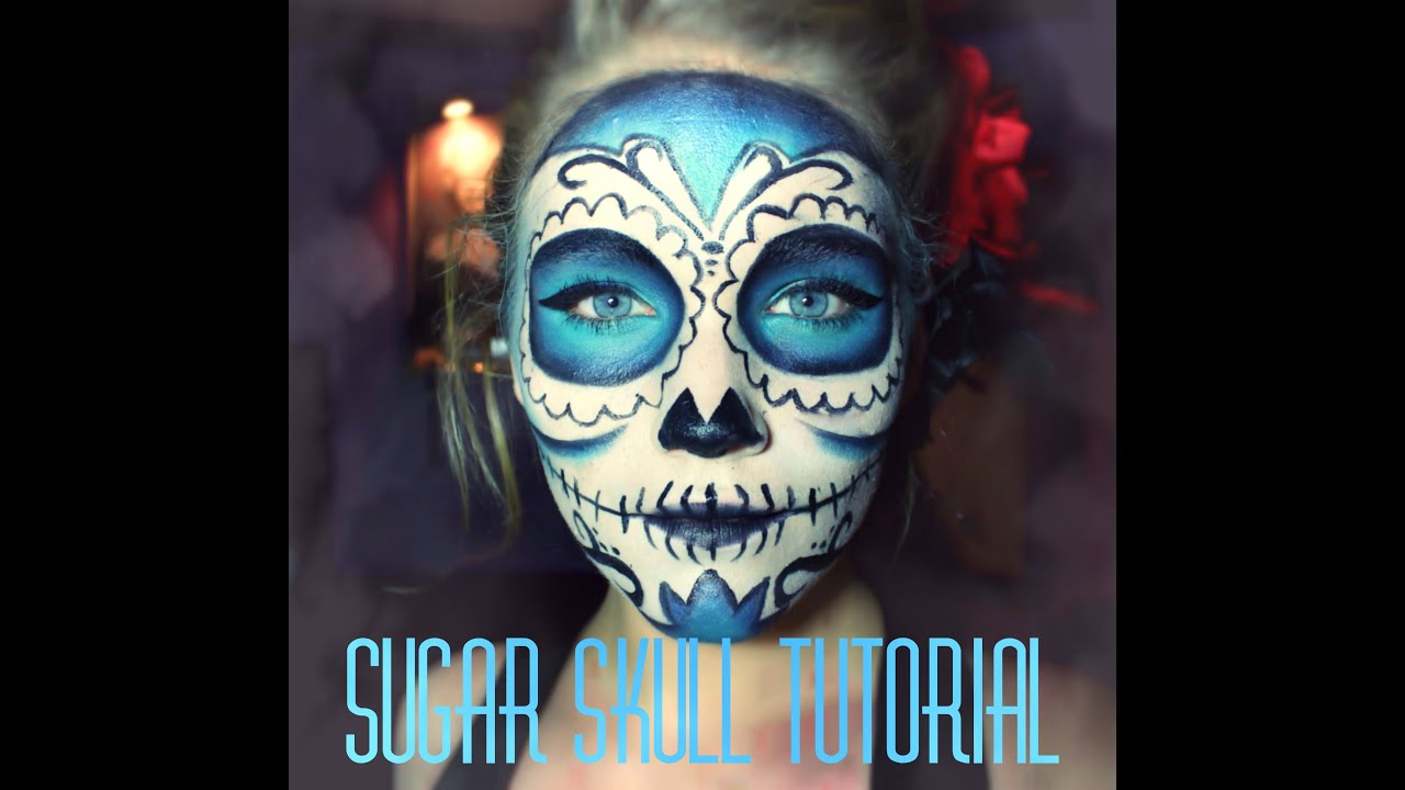 Sehr ✿ ☠ Sugar Skull | Makeup Tutorial ☠ ✿ - YouTube YY19
