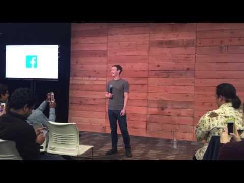 Singing Happy Birthday to Mark Zuckerberg at Facebook HQ