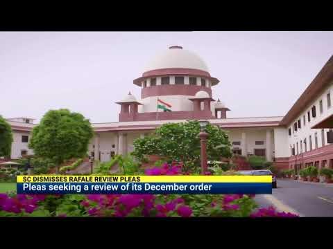 Supreme Court dismisses Rafale review pleas
