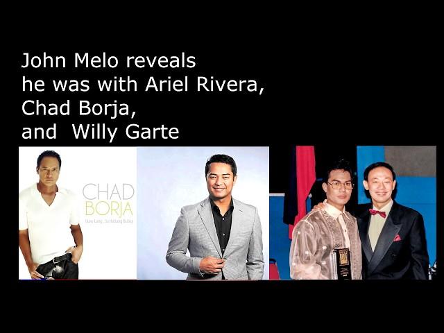 Sobrang ganda ng boses! Original OPM Singers John Melo Ariel Rivera Chad Borja Willy Garte