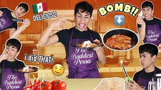 Cooking BOMB AF CHILAQUILES!! | Louie's Life