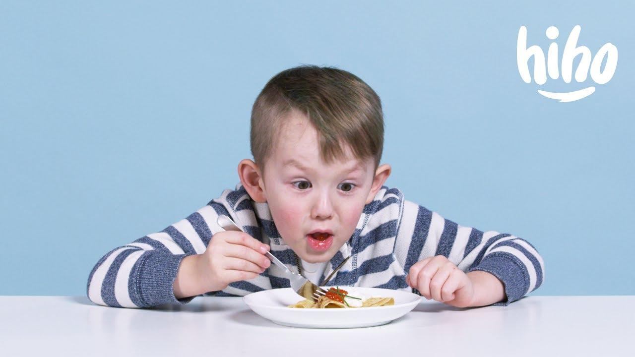 Kids Try Russian Food Kids Try Hiho Kids Youtube