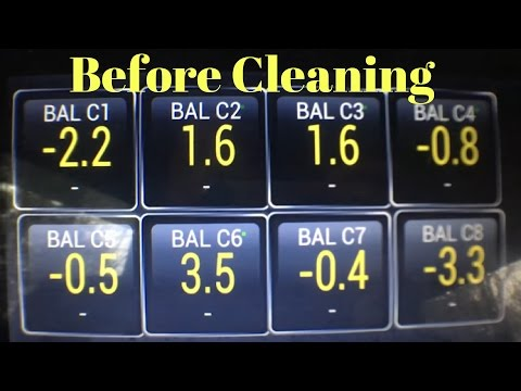 Lb7 Duramax Balance Rates Before Cleaning