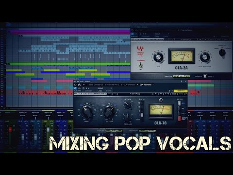 Mixing Pop Vocals with Waves CLA Classic Compressors