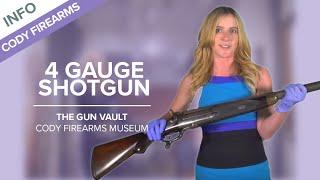 4 Gauge Winchester Wildfowler - The Gun Vault 8 - Cody Firearms Museum