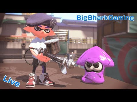 Too much Dark Souls 3 Splatoon 2 Big Shark Gaming