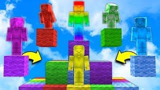 putting rainbow steve back together