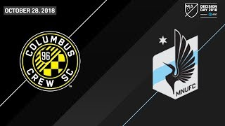 HIGHLIGHTS: Columbus Crew SC vs. Minnesota United FC | October 28, 2018