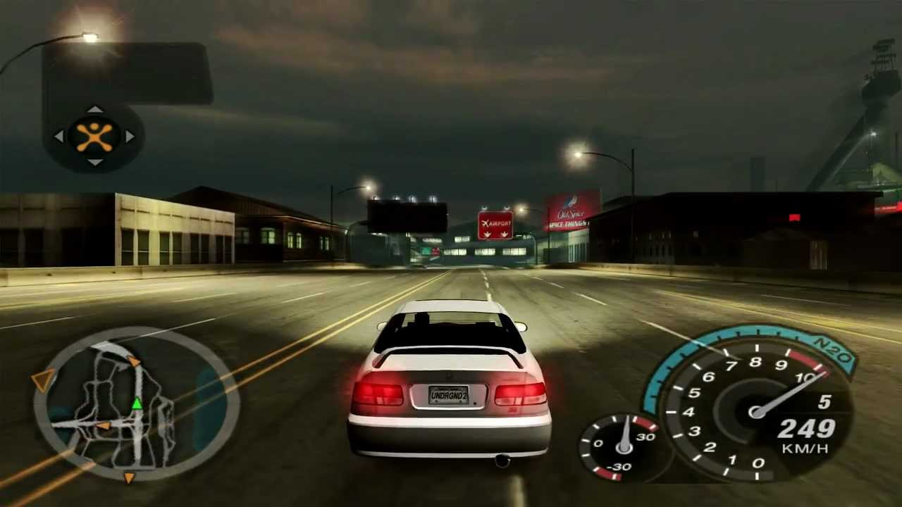 Honda Civic Si Used >> NFSU2 - Honda Civic Si - 12000 RPM [Full HD] - YouTube