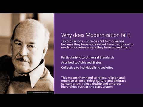Theories of Development  Modernisation Theory