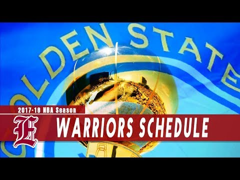 Warriors get their way with 2017-18 season schedule for title defense