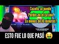 Cuánto Dinero Se Puede Perder En El CASINO en Menos De 10 MINUTOS? 🤑💰🎰 LAS VEGAS CASINO Slot Machine