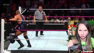 WWE Raw 10/13/14 Seth Rollins vs Jack Swagger Live Commentary