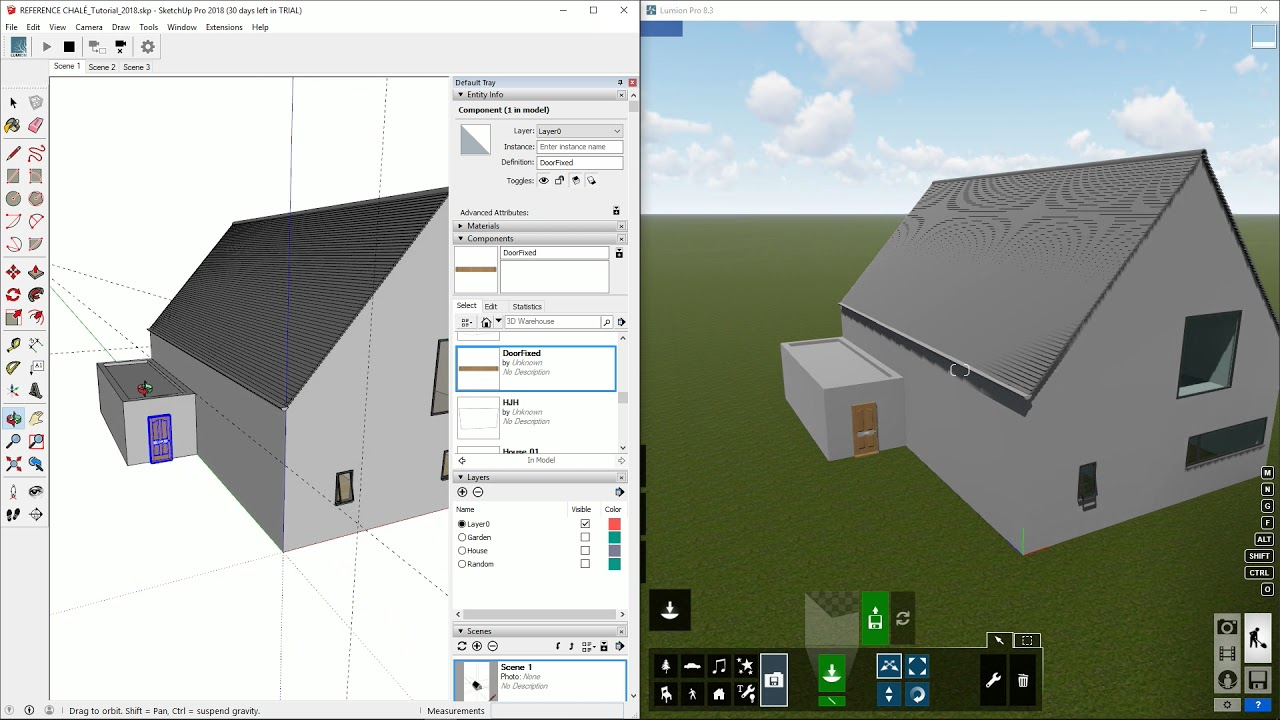 New in Lumion 8 3: LiveSync for SketchUp