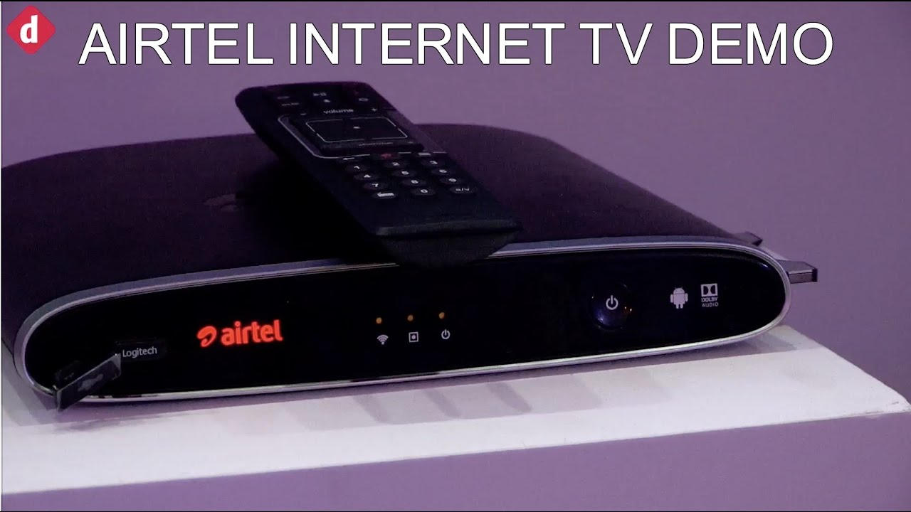 Airtel Internet TV Demo & First Look | Digit in