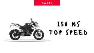 Bajaj Pulsar 150 NS 2018 Top Speed