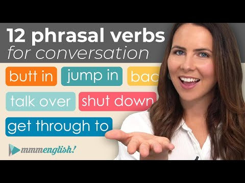 12 Important Phrasal Verbs for Everyday English Conversation