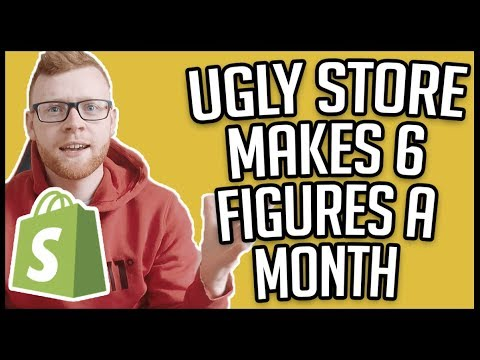 THIS UGLY SHOPIFY STORE MAKES 6 FIGURES! thumbnail