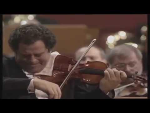 Itzhak Perlman plays Beethoven op. 61 mvt 2 (excerpt)