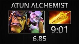 Dota 2 Fast Item - Atun Alchemist » Radiance » 9:01 [6.85]