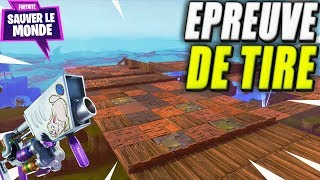 Egg Lance Shooting Test! Fortnite Saving the World