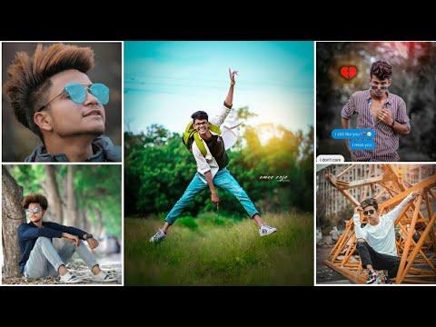 Photoshoot style pose male