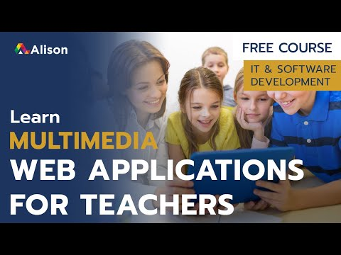 Multimedia Web Applications for Teachers and Trainers