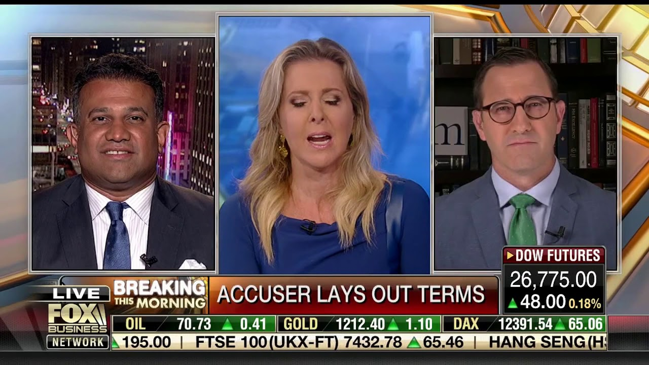 Fox Business News: The Right to Challenge an Accuser and Kavanaugh Disproving Negatives