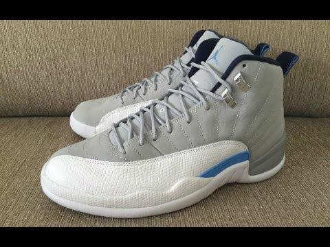 6a262bd752d0 This New Air Jordan 12 Grey University Blue Has A Familiar Look To ...
