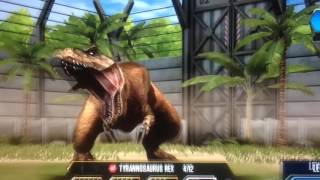 walking with beasts opening jurassic world the game