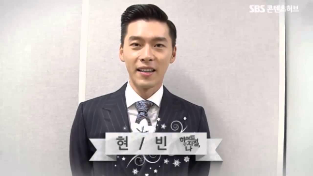 Hyun bin han ji min new year greeting youtube