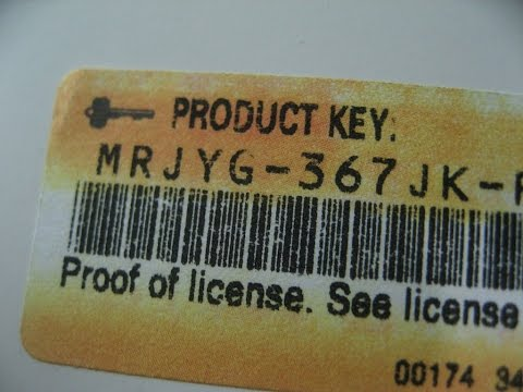 How To Find Your Windows Product Key, The Easy Way