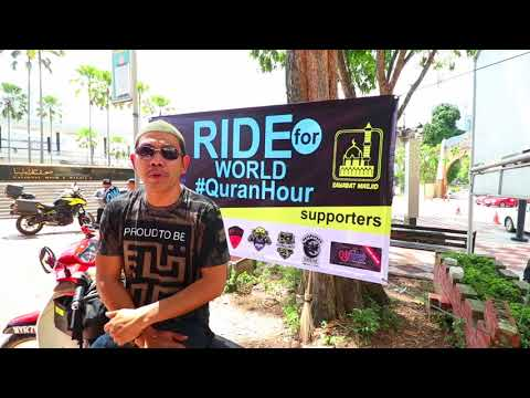 RIDE 4 WORLD QURAN HOUR