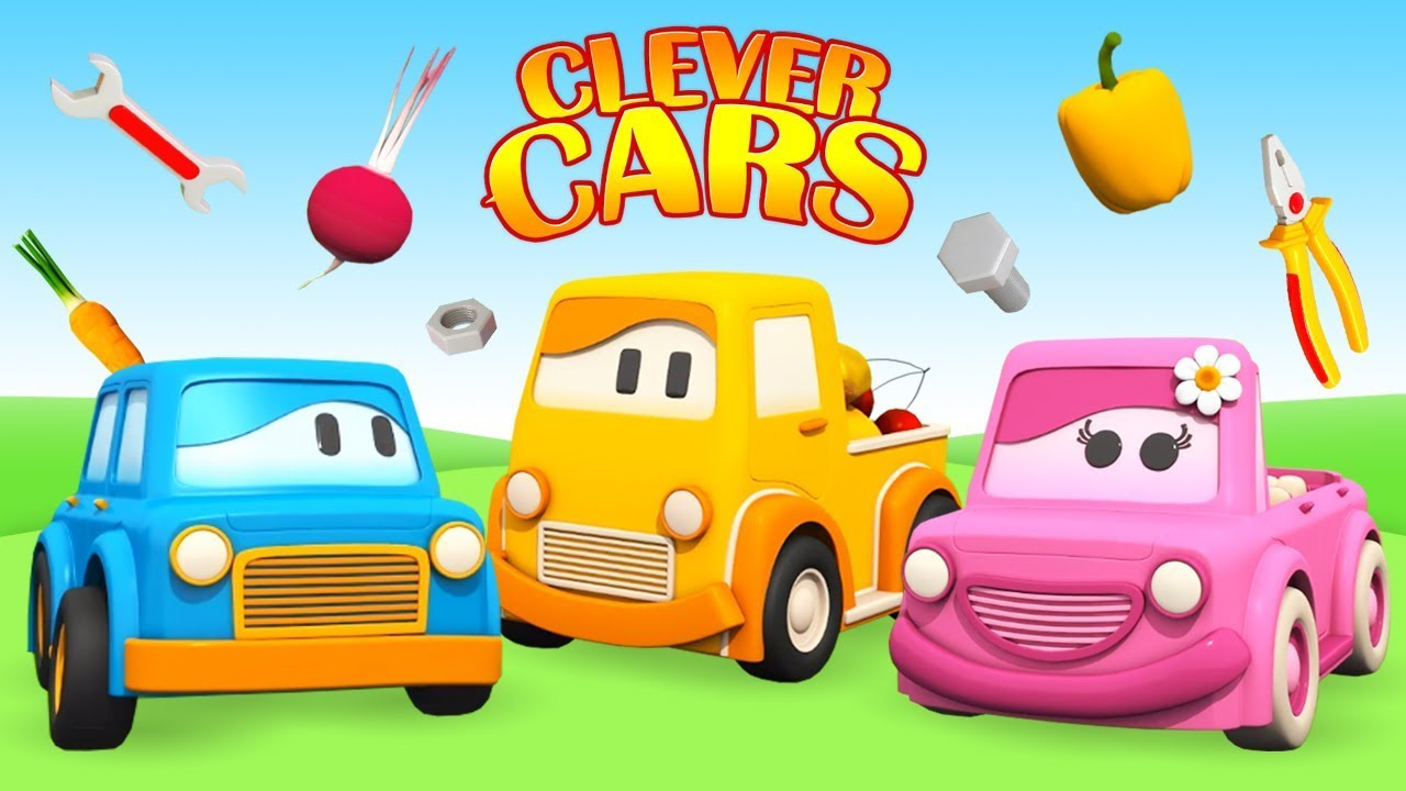 Car Cartoons For Children Videos For Babies Clever Cars Cartoon Full Episodes Youtube