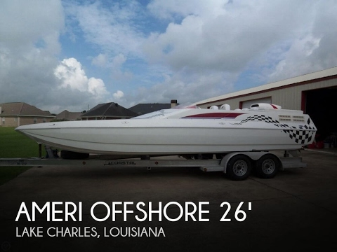 [UNAVAILABLE] Used 2002 American Offshore NSX 2600 OS in Lake Charles, Louisiana