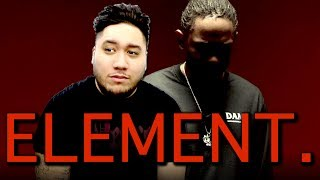 Kendrick Lamar - ELEMENT. REACTION!!!