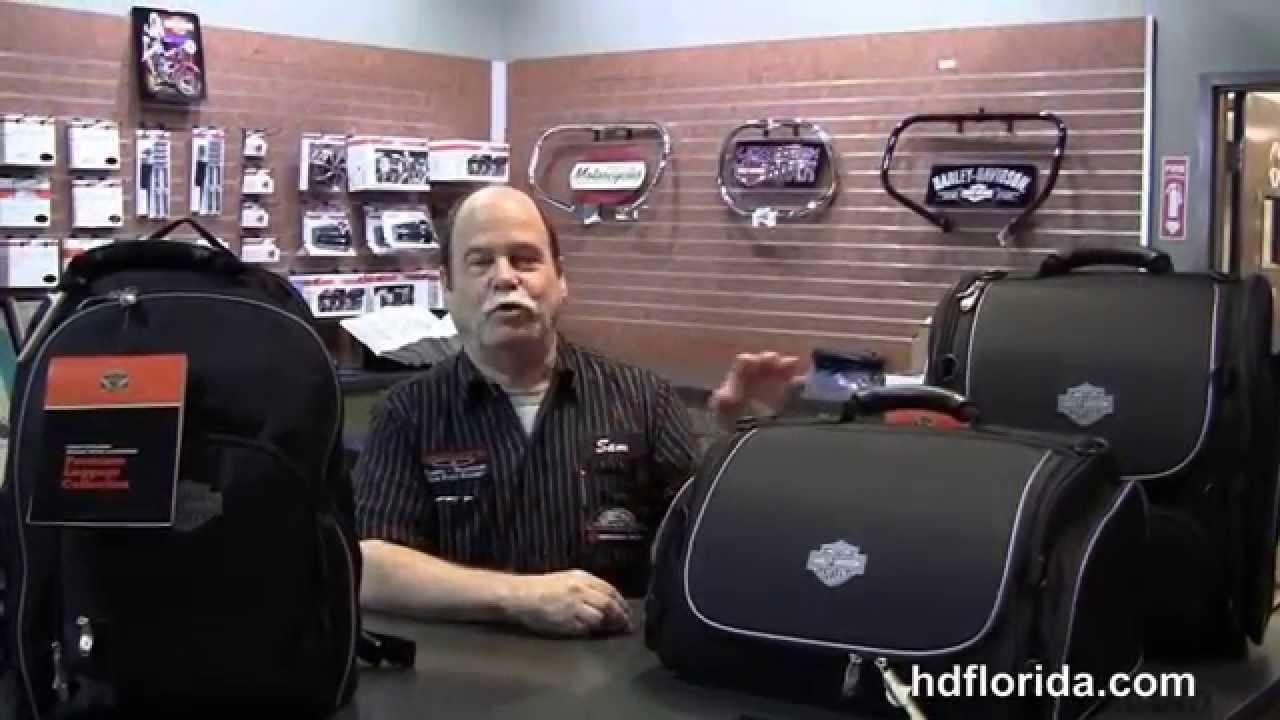 Harley Davidson Premium Rolling Touring Bag