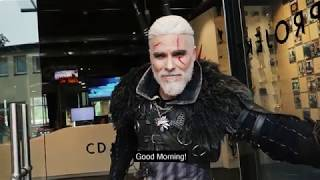 One day in the life of Geralt of Rivia in 2017.