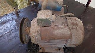 Air Compressor Motor Restoration | Squirrel-cage rotor Repair