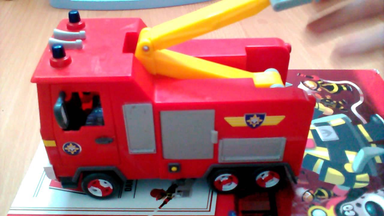 jouet sam le pompier ep1 youtube